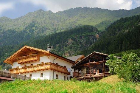 Urlaub auf dem Bauernhof im Ridnauntal  Südtirol - Veiterhof