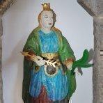Heiligen Statue