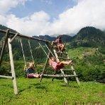 Kinderferien am Bauernhof - Kinderspielplatz