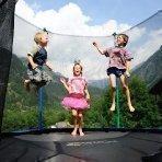 Kinderferien am Bauernhof - Trampolin