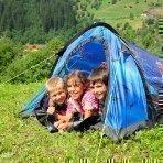 Kinderferien am Bauernhof - Zelt