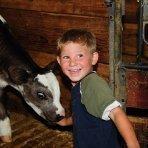 Familienurlaub am Bauernhof - Tiere füttern
